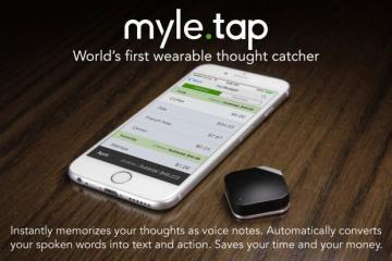 MYLE TAP: Touch-activated Voice Recorder