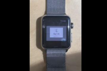 Mac OS 7.5.5 on Apple Watch