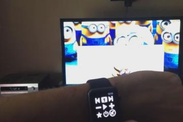 DIY: Apple Watch VLC Controller