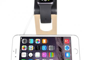SPARIN Dual Stand / Charge Station for Apple Watch & iPhone