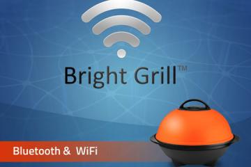 Bright Grill: Smart Grill Supports Pebble Watch