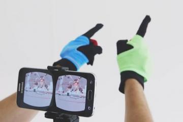 Manus Virtual Reality Gloves Demo