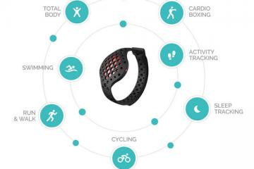 MOOV NOW: 2nd Generation Smart Wearable Coach