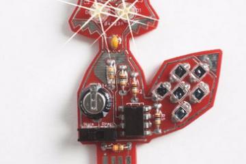 DIY: LED Fox Pendant / Solar Powered