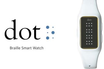 Dot Braille Smartwatch for Visually Impaired