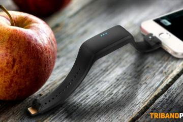 Triband Plus: Wearable Phone Charger