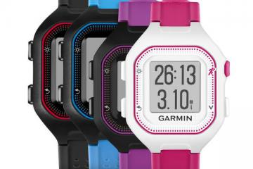 Garmin Forerunner 25: Connected GPS Running Watch