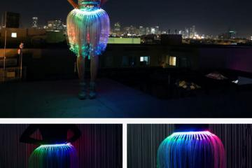 Jellyfish Skirt w/ Arduino Lets You Put On a Show
