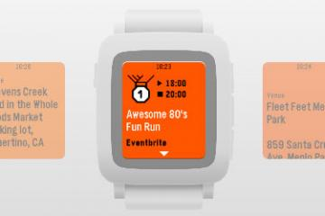 Eventbrite for Pebble Time