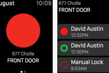 August Smart Lock Now Apple Watch Compatible