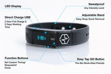 Intrvl Band: Wearable Personal Trainer