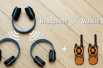 Combat+ Sync: Walkie Talkie, Music Share Headphones