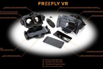 Freefly Virtual Reality Headset for Smartphones