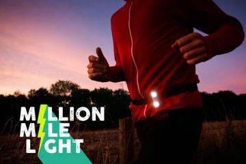 Million Mile Light: Motion Power Safety Light