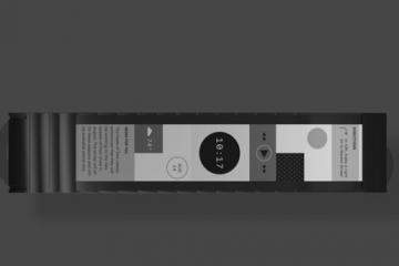 Wove: Flexible Band w/ E-ink Display