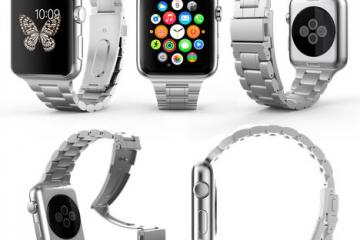 HyperLink Steel Apple Watch Bracelet Band