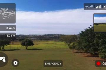 SmartEyeglass for Augmented Reality Drone Control