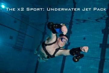 x2 Sport Wearable Underwater Propulsion System