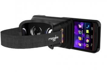 Moggles Foldable Virtual Reality Headsets