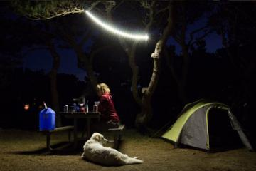 Luminoodle: LED Light That Sticks and Hangs On Anything