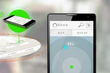 Geoo Geo-Tracker: Bluetooth + GPS