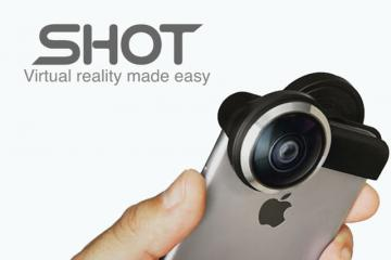 Shot: Create VR Videos with Your Smartphone