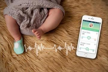 Owlet Baby Monitor: Heart Rate & Oxygen Monitor for Infants
