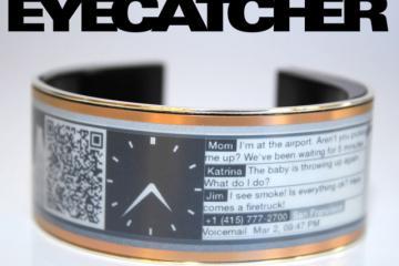 Eyecatcher: Smart Bracelet w/ E-ink Display