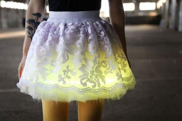 Day to Night-Light Skirt [DIY]