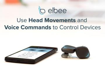 Elbee: Wireless In-ear Headphones w/ Smartphone Control