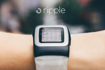 Ripple: Solar Watch Strap for Pebble Time