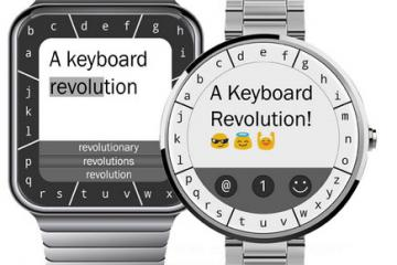 TouchOne Keyboard for Square & Circular Smartwatches