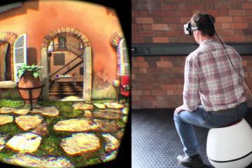 VRGO Virtual Reality Chair