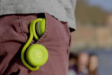 Moudio M100 Smart Headphones with Activity Tracker