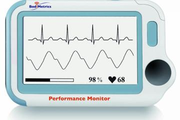 BodiMetrics Performance Monitor Takes an EKG, Measures SpO2