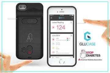 GluCase Smartphone Case Glucometer [iOS/Android]