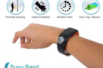Sunu Band: Sonar Bracelet for Visually Impaired People