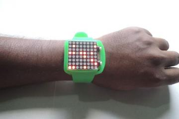 DIY: Arduino Dot Matrix Watch
