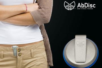 AbDisc: Fitness Tracker for Your Core