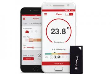 QTemp: Smart Wearable Weather Station