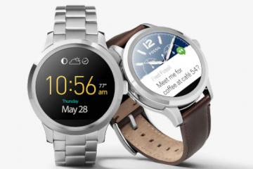 Fossil Q Founder Smartwatch Now Available on Google Store
