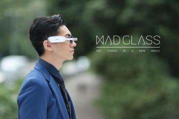 MAD Glass: Smart Eyewear with Navigation, Augmented Reality