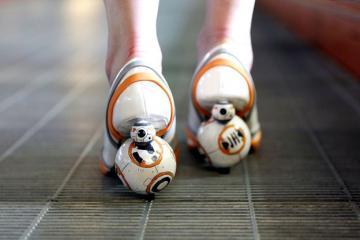 DIY: Star Wars BB-8 Heels