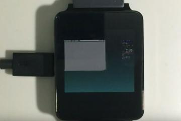 Running Linux on Android Wear