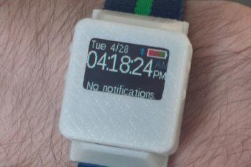 TinyScreen Smart Watch Kit: Create Your Own Smartwatch