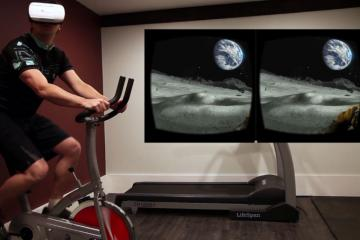 Veloporter: Virtual Reality Cycling Wearable