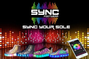 Sync Footwear: App Enabled Shoes