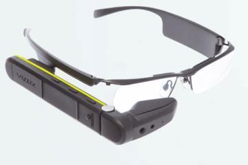 Vuzix M300 Smart Glasses Running Android 6.0