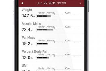 InBody BAND: Wearable Body Composition Analyzer