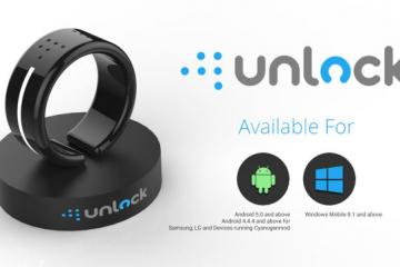 Unlock: Bluetooth 4.2 Smart Ring